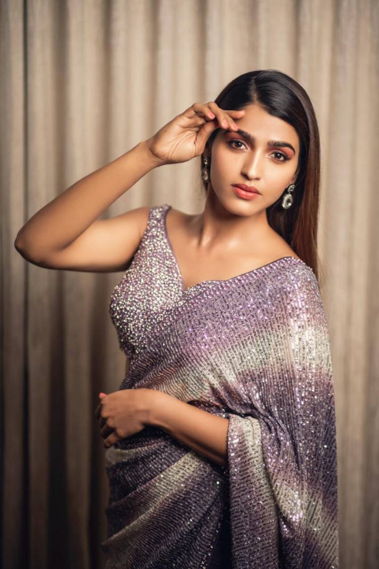 Dazzling Beauty SaiDhanshika in Elegant Poses
