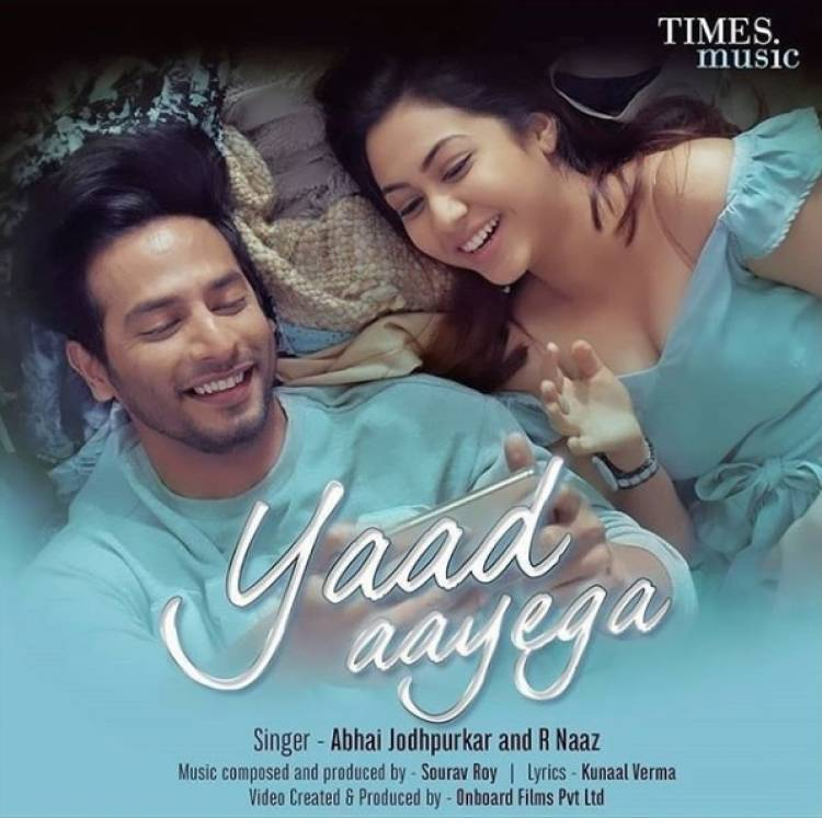 "Bollywood's new crooning queen R. Naaz releases a new song ""Yaad Aayega"""