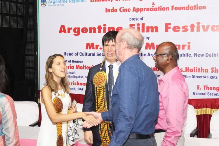 Inauguration stills of Argentine Film Festival