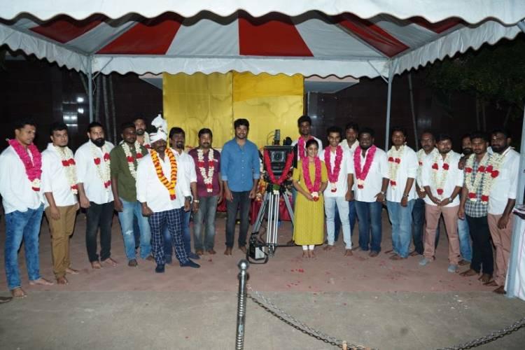 பிளாக் ஷீப் தயாரிக்கும் முதல் படத்தின் பூஜையும் படப்பிடிப்பும் இன்று நடைபெற்றது
