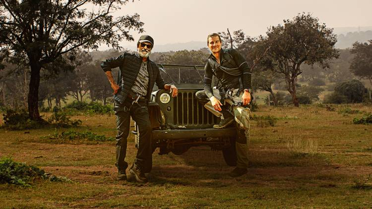 Discovery to premiere Superstar Rajinikanth's historic TV debut show 'Into The Wild With Bear Grylls' on March 23