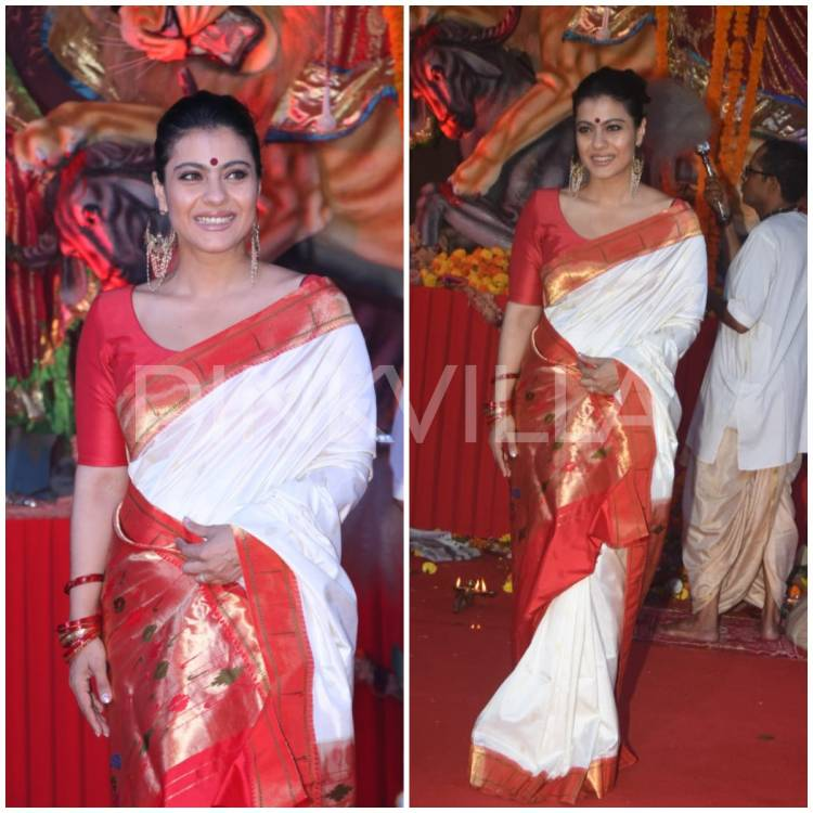 """I have a different kind of attachment to sarees'' reveals Kajol expressing her love for the traditional attire"
