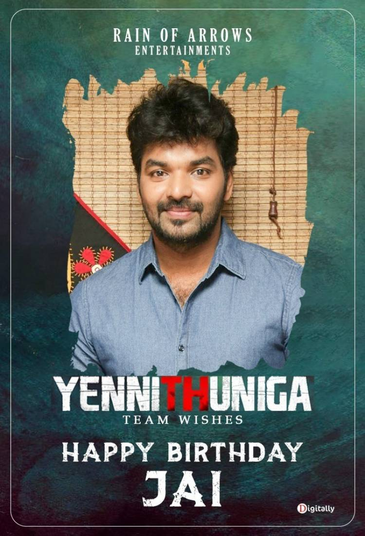 Many more happy returns of the day to our hero Jai wishes from yennithuniga team