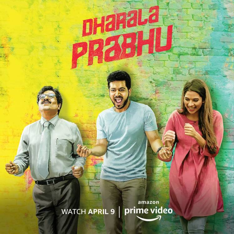 Dharala prabhu now on Amazon Prime from April 9th