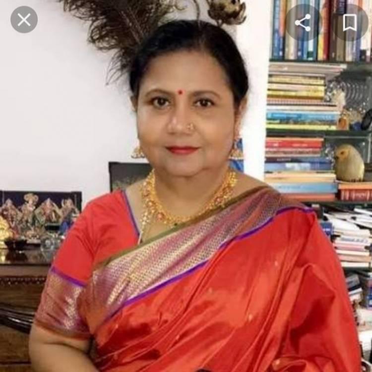 நடிகை குட்டி பத்மினி கொரோனா நிவாரண உதவி