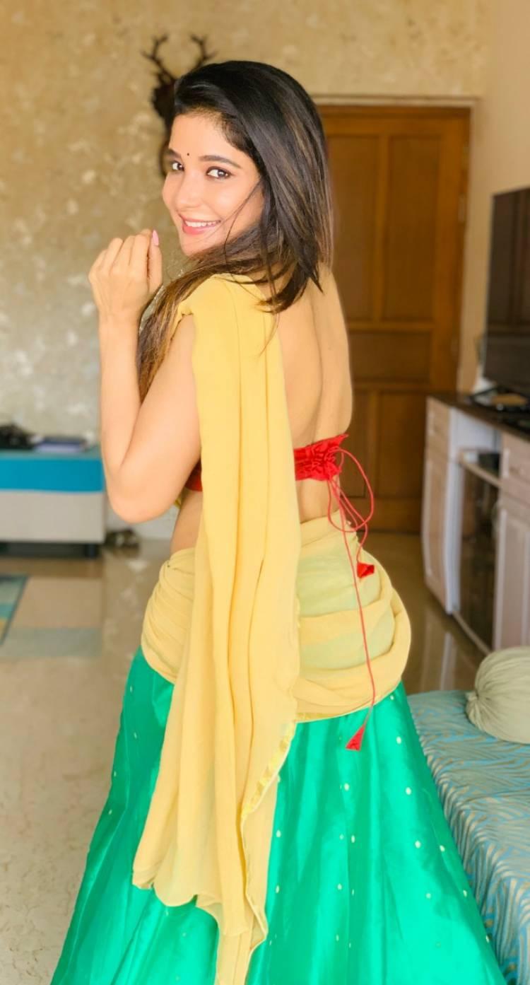 Actress Sakshi Agarwal says make use of quarantine and build your better version