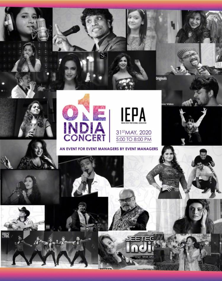 IEPA presents Historic 'One India Virtual Concert' on 31st May, 5 pm