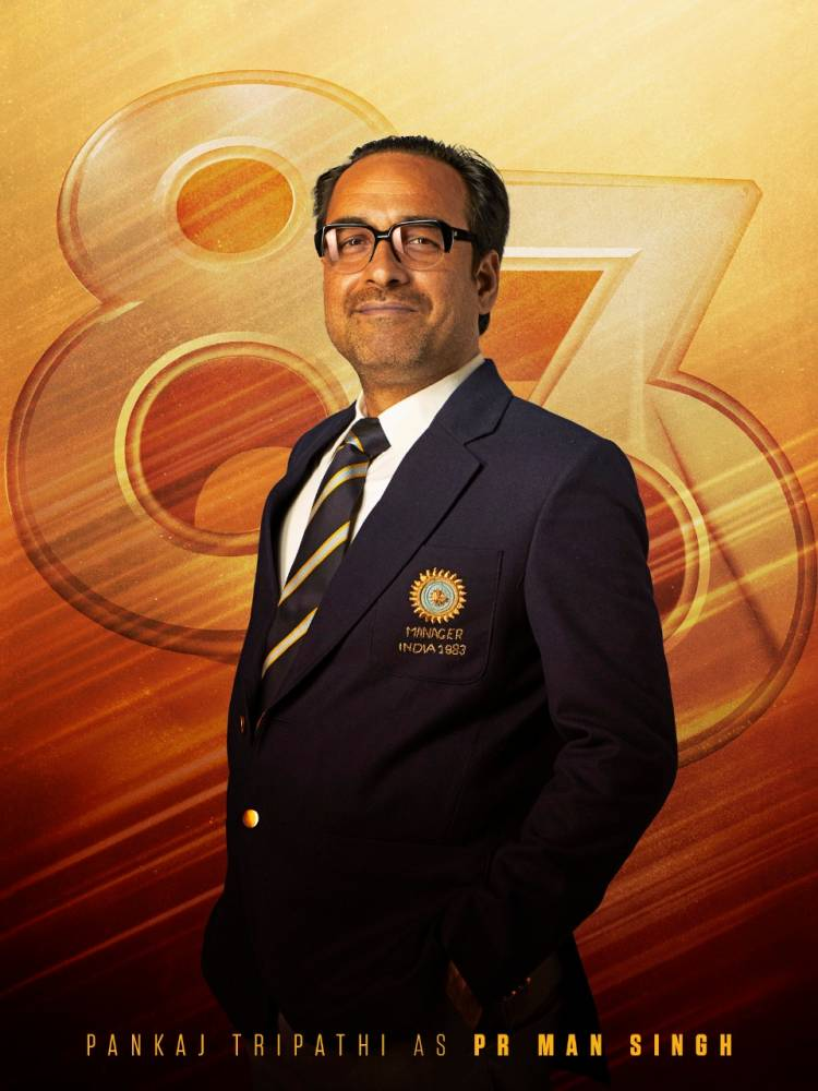 Kabir Khan shares his thoughts on Pankaj Tripathi's role as PR Man Singh in 83