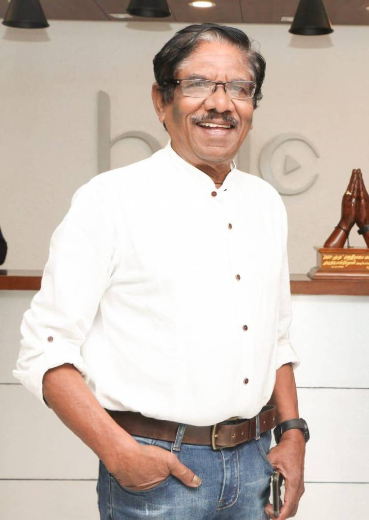 நடிகர் பாரதிராஜா மாண்புமிகு முதல்வர் அவர்களுக்கு பாராட்டுக்களை தெரிவித்தார்