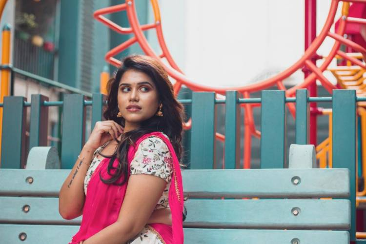 Actress Aradhanababu recent photoshoot