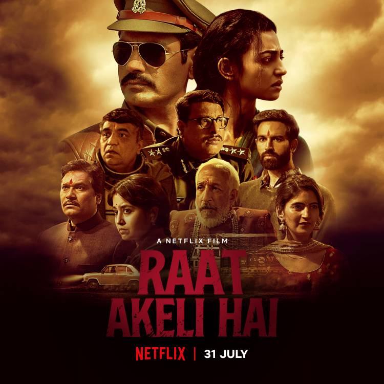 Honey Trehan shares a breathtaking poster of his upcoming movie 'Raat Akeli Hai 'starring Nawazuddin Siddiqui and Radhika Apte