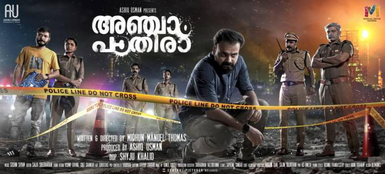 Reliance Entertainment, Ashiq Usman Productions and AP International come together for the Hindi Remake of Malayalam Crime Thriller 'Anjaam Pathiraa'