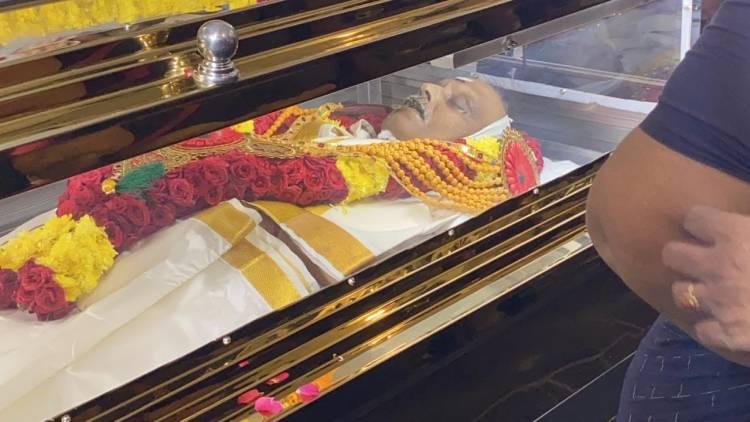 எஸ்.பி.பி. உடல் நல்லடக்கம் காவல்துறை மரியாதையுடன்