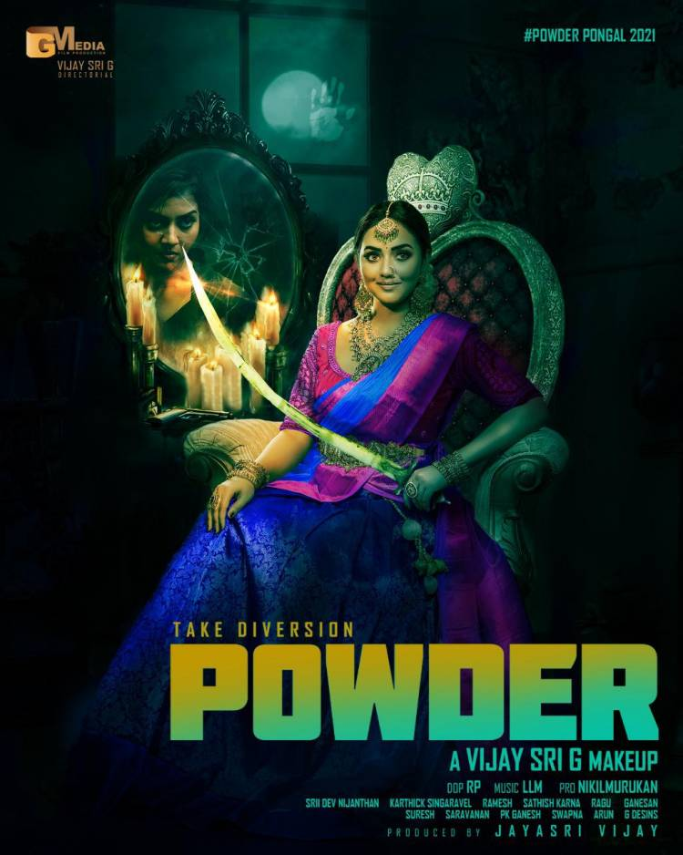 Here is the First Look of  @vijaysrig Directorial  #powder #பவுடர்