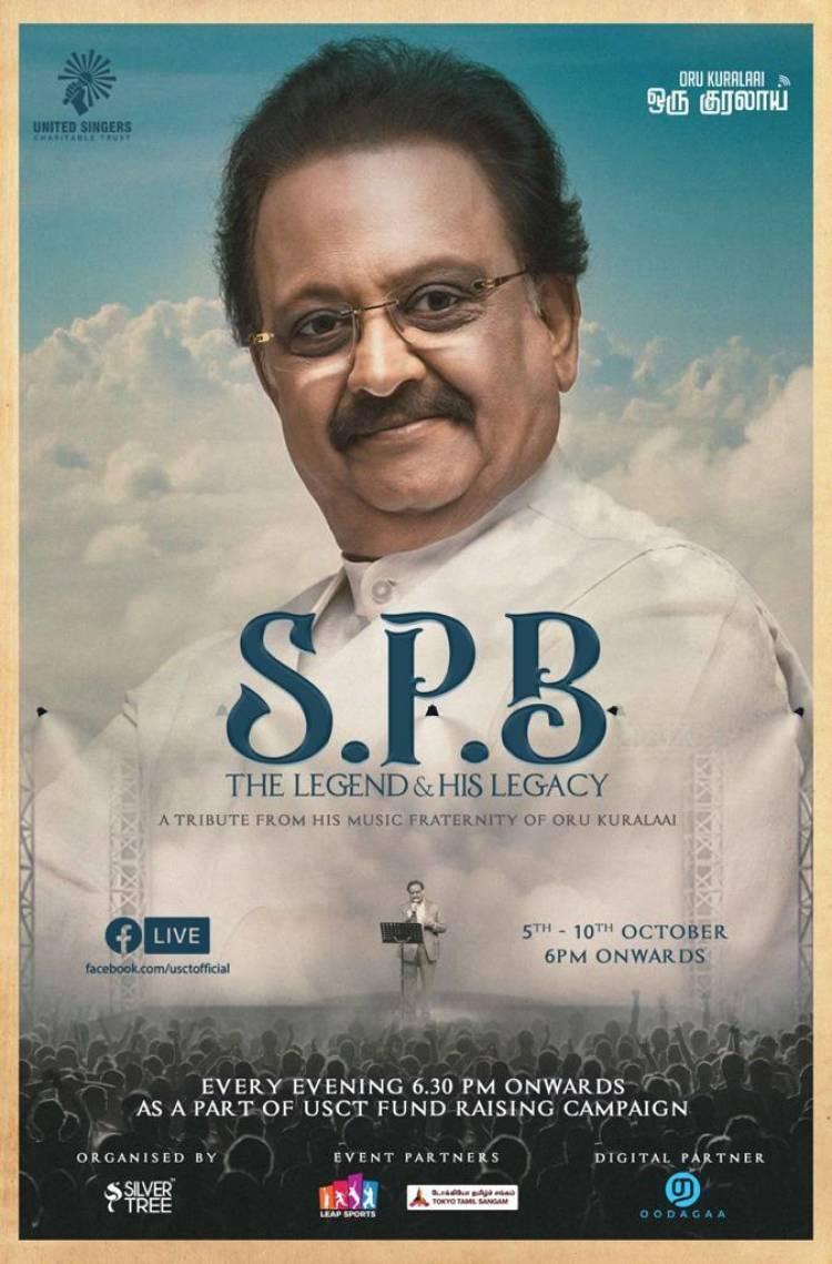 A Legend, A phenomenon, Our dear SPB sir !