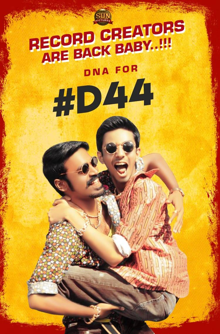 They are BACK!  #D44 Music by @anirudhofficial #DnAisBack