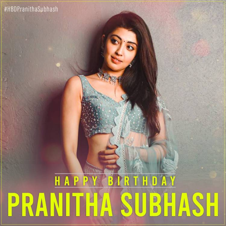 Wishing actress @pranitasubhash a happy, happy birthday!