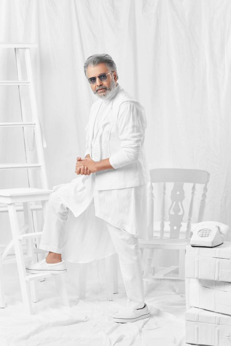 NammaKalaivanar Actor Vivek in a New lookConcept Created and styled by sathya sathyanjfashionhouse
