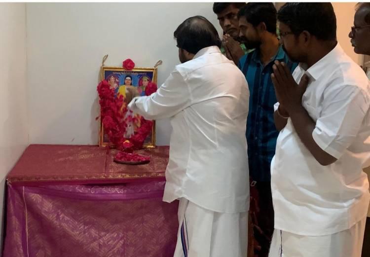 பசும்பொன் முத்துராமலிங்கத்தேவரின்113வது குருபூஜை