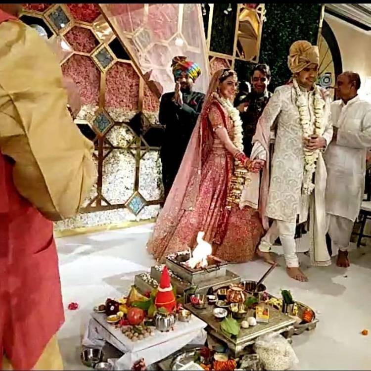 தொழில் அதிபரை மணந்தார் நடிகை காஜல் அகர்வால் திருமணம்