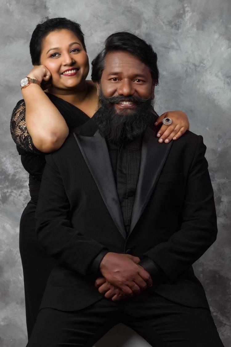 The Happening Reality,lovable & Graceful Couple #GraceKarunaas & #Karunaas in New Makeover
