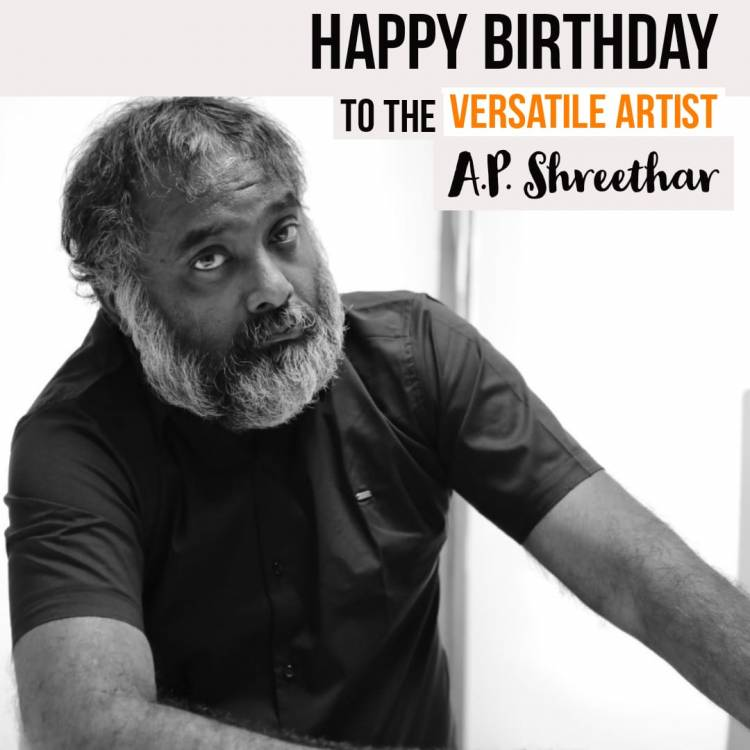 Happy Birthday Artist, Actor and Producer @ApShreethar