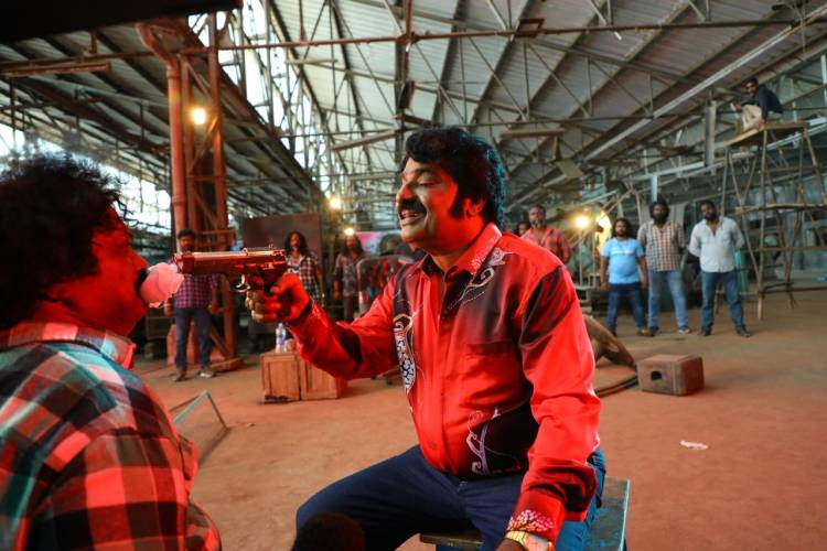 #NaangaRombaBusy stills. directed by #Badri #நாங்கரொம்பபிசி #SundarC #avnimovies