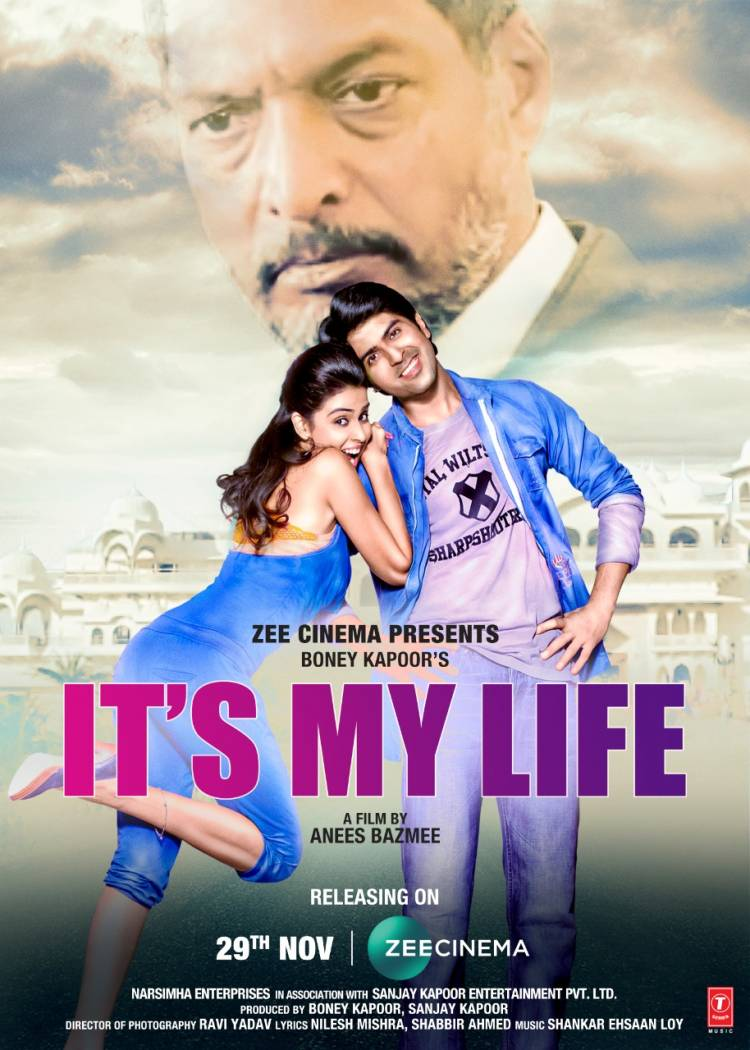Boney Kapoor and Zee Cinema come together to release 'It's My Life', a Hindi remake of the blockbuster Telugu film 'Bommarillu'