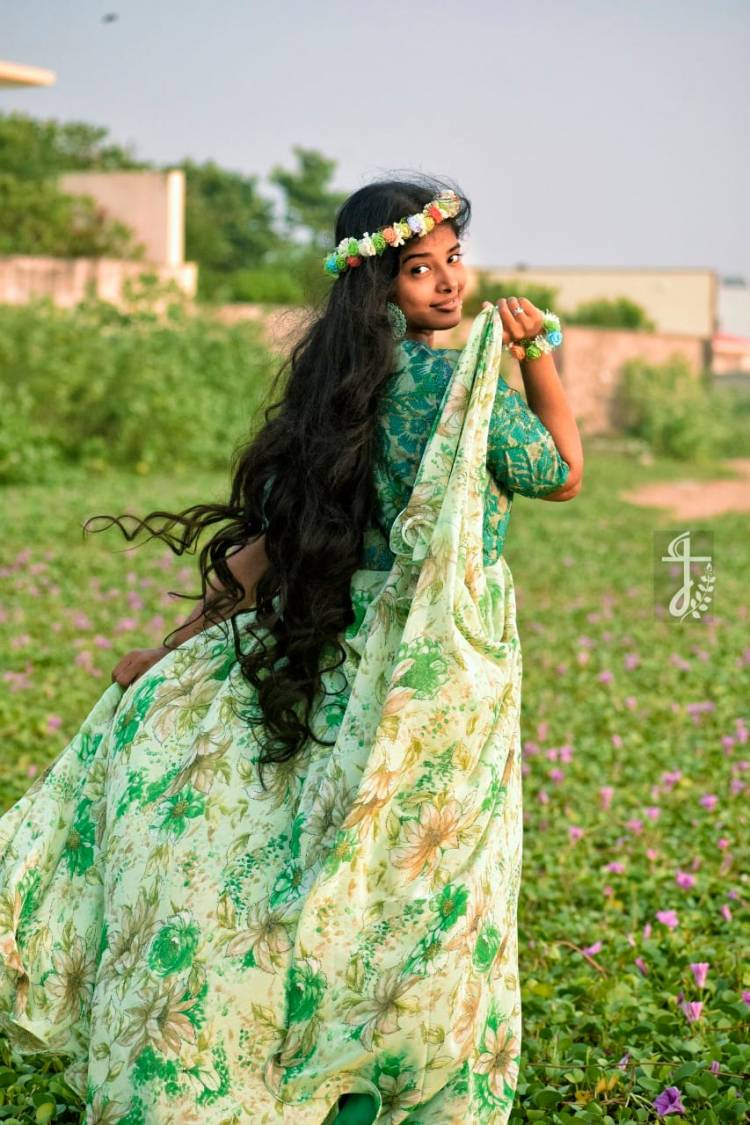 Angel from heaven @sheelaActress  @johnmediamanagr#sheelarajkumar