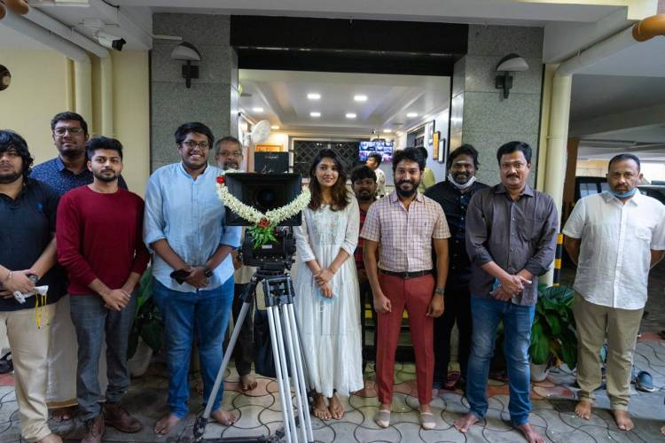 #CasinoTheMovie Movie Pooja Stills  Starring @vanibhojanoffl @Madhampatty Director @markjoel_r