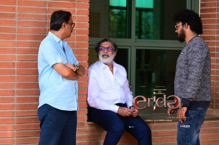 Here are the Exclusive Shooting spot stills from the sets of #Erida