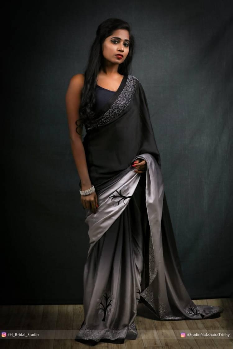 Beauty in Black #Ravishing @SaranyaRavicha7. Recent Photos