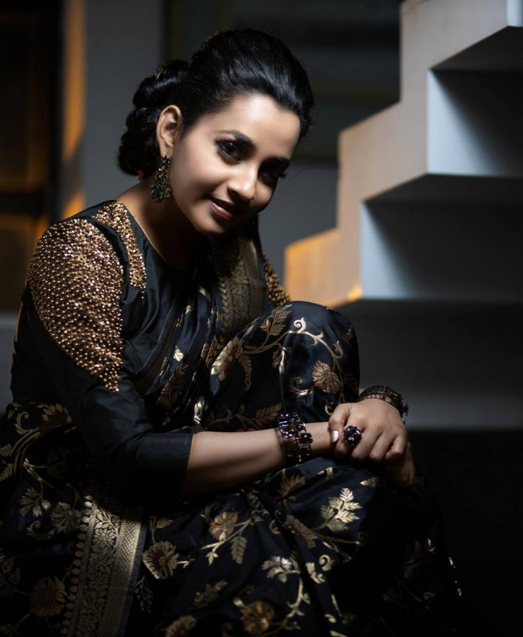 Actress Abarnathi Has Never Failed To Bring The Charm & Style In All Her Photoshoot Stills.