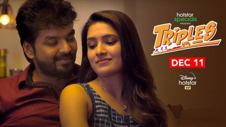 Romantic song 'Nee En Kannadi' from Jai Sampath and Vani Bhojan starrer 'Triples' Out now!