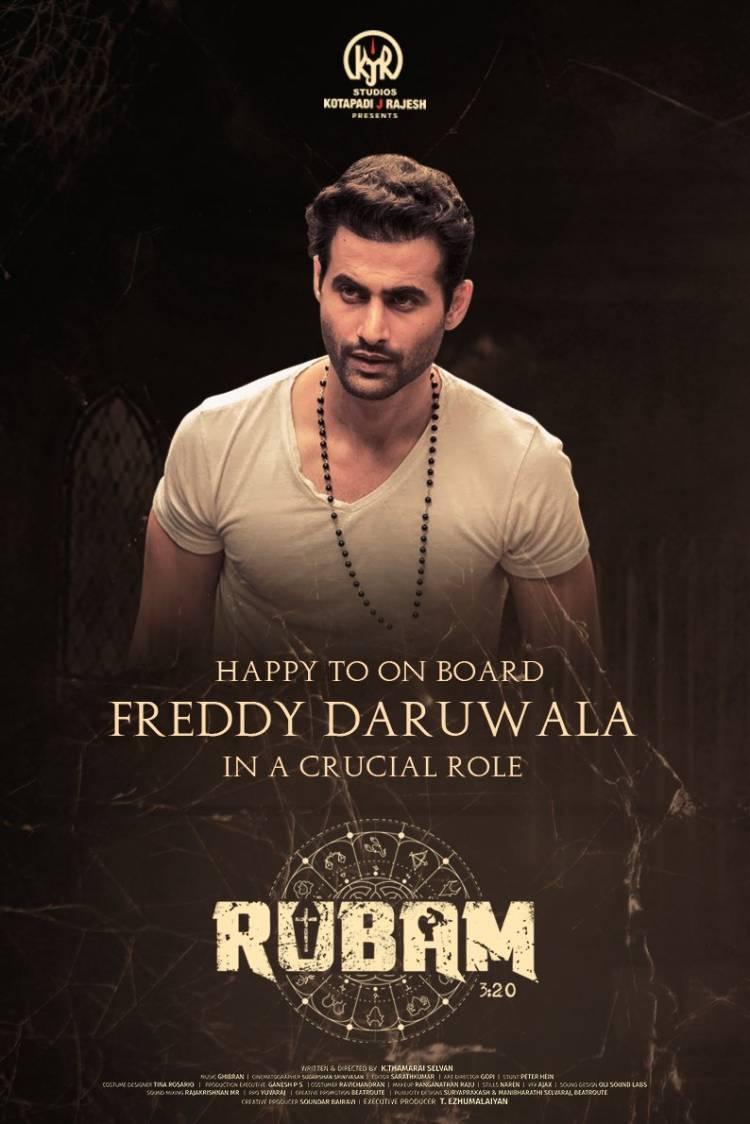 Bollywood actor @Freddydaruwala is on board #Rubam in a crucial role!