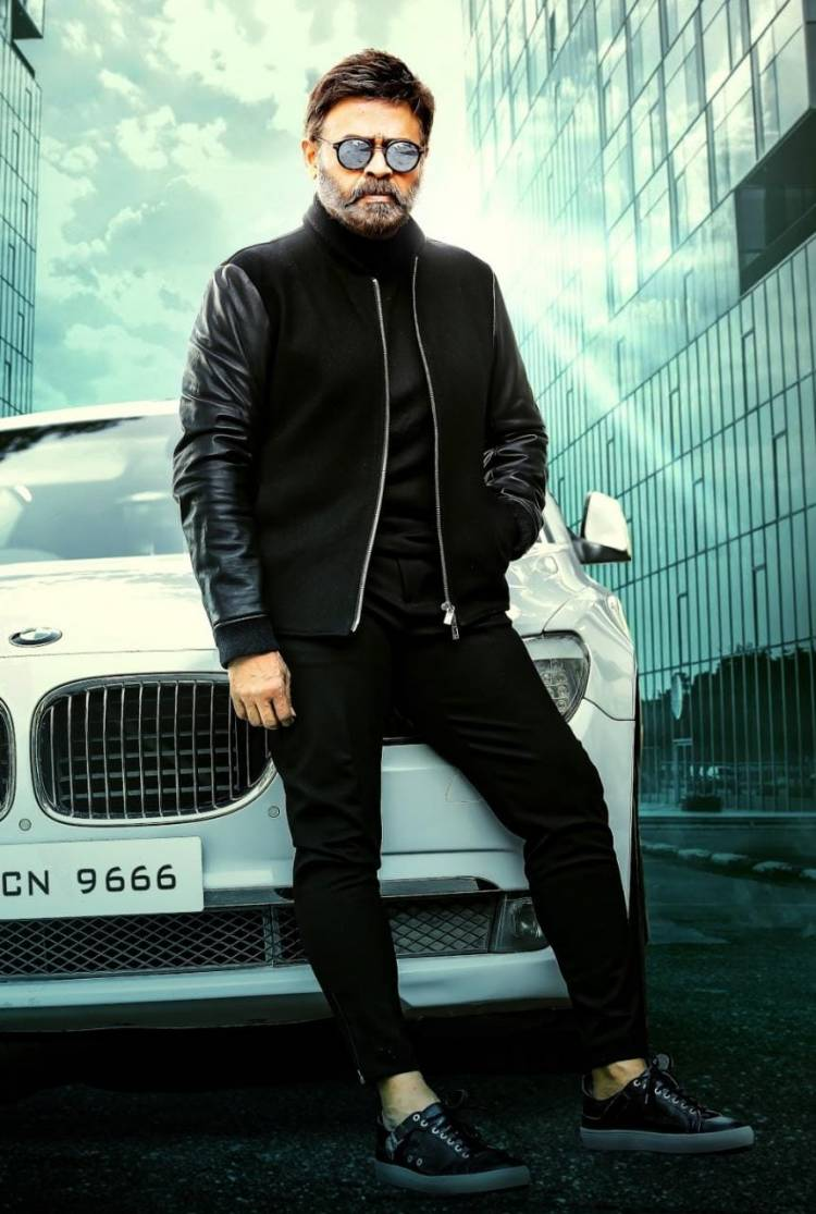 Victory Venkatesh's New Stylish Look For His Birthday Is Rocking