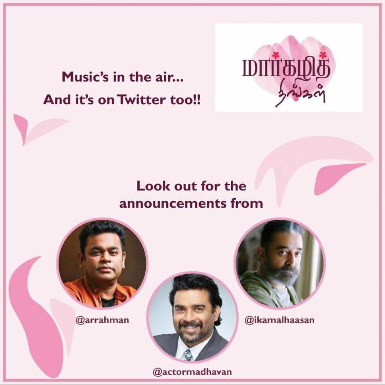 #OnePaasuram #9Voices #InHarmonyandPeace #MargazhiThingal Launched by @ikamalhaasan @arrahman & @ActorMadhavan On Friday Jan-8th 5:00PM