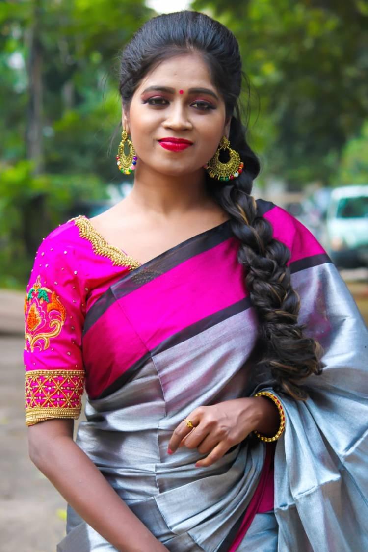 Traditional Pics of SaranyaRavicha7 #SaranyaRavichandran