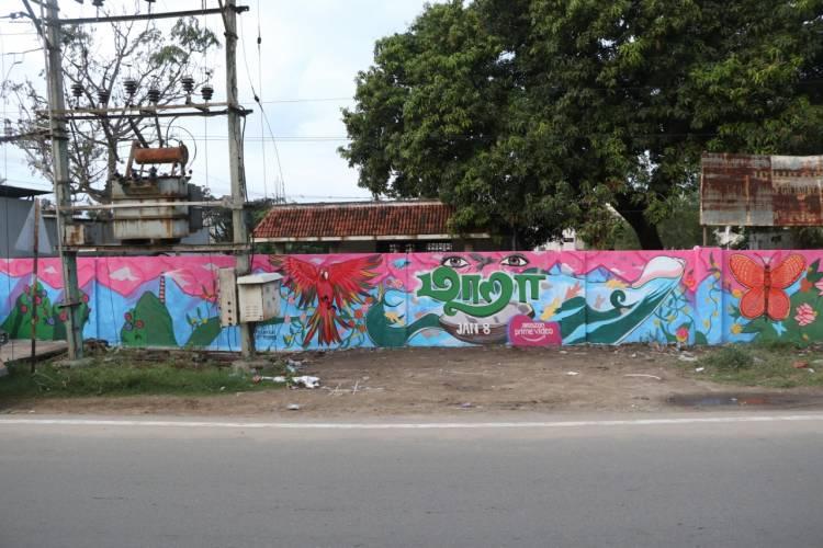 வசப்படுத்தும் சுவர் ஓவியங்கள் மற்றும் விளம்பர தட்டிகள் மூலம் தமிழகமெங்கும் மாறாவின் மாய வித்தையை அமேசான் பிரைம் வீடியோ பரப்புகிறது