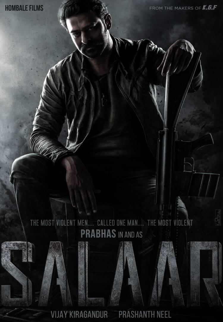 Cinematic powerhouses #Prabhas, @hombalefilms, @prashanth_neel, and @VKiragandur to kick-start #Salaar with pooja on January 15th at Hyderabad.