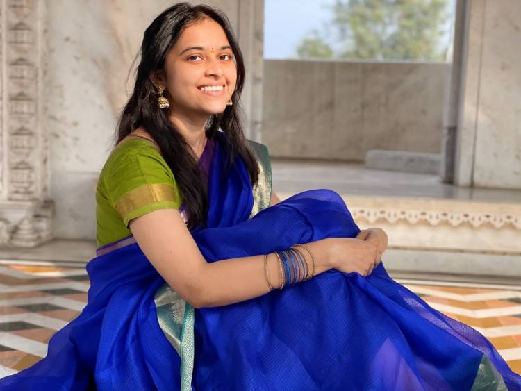 Adorable Actress #SriDivya who has captured Millions Of Hearts As #LathaPandi Wishes Everyone A Happy Pongal!!
