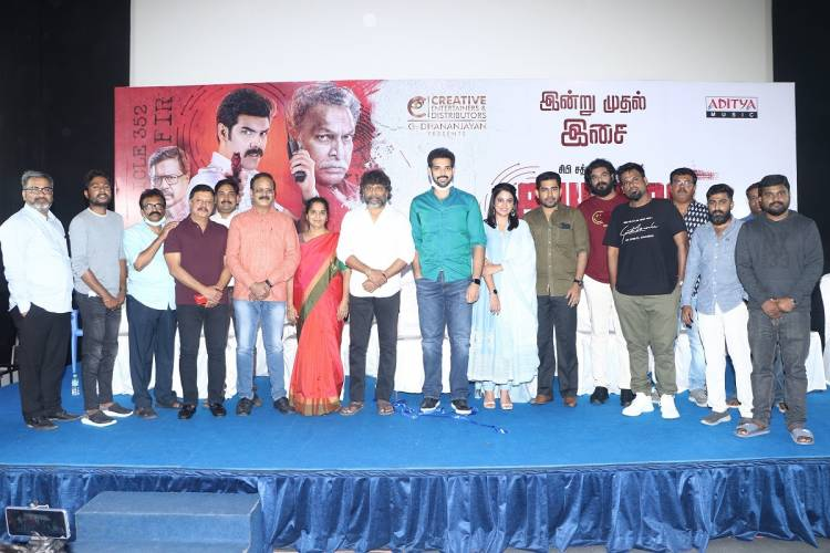 """Kabadadaari"" Movie Audio launch stills, Audio Launched By Actor Vijay Antony & Producer T.Siva"