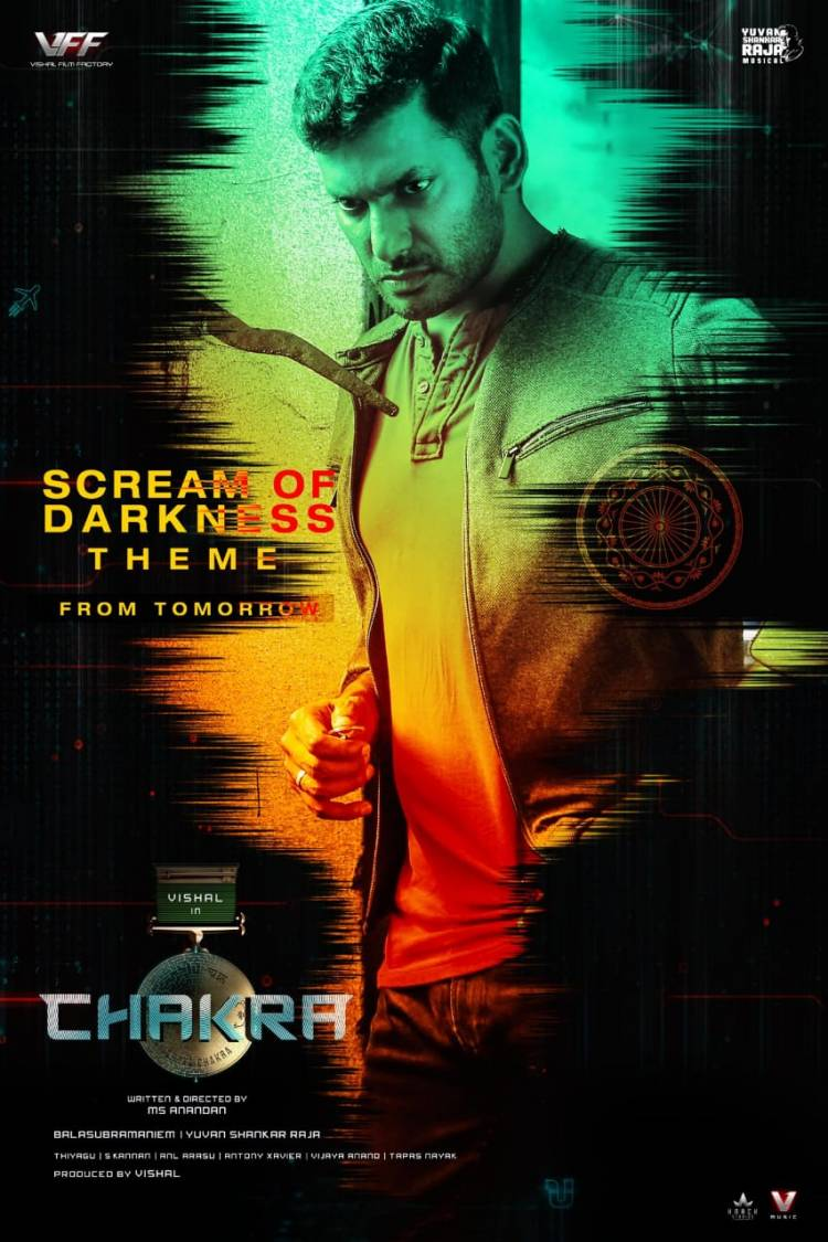 U1's magical theme #Screamofdarkness from #Chakra is set to release tomorrow.