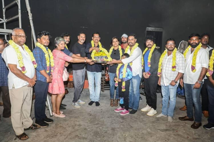 @Abhishek_films_ #RameshPPillai Presents #ProductionNo8 Produced by #RAbhishek #RAdhithya #RSiddarth Starring #Prabhudeva @nambessan_ramya