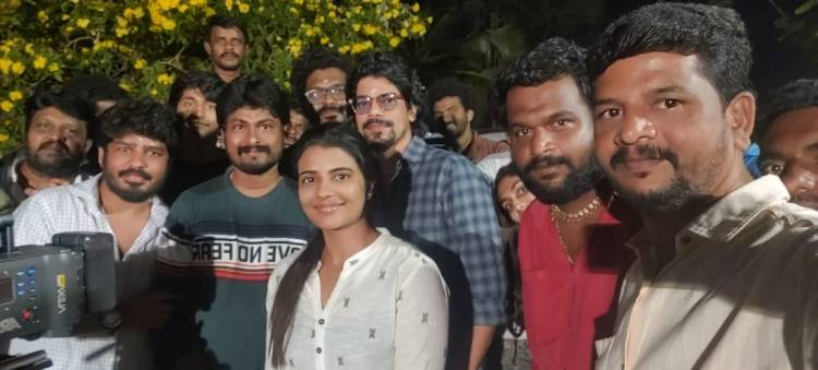 It's a WRAP for #ThittamIrandu #PlanB it was a fantastic Journey thanks @aishu_dil and entire team.