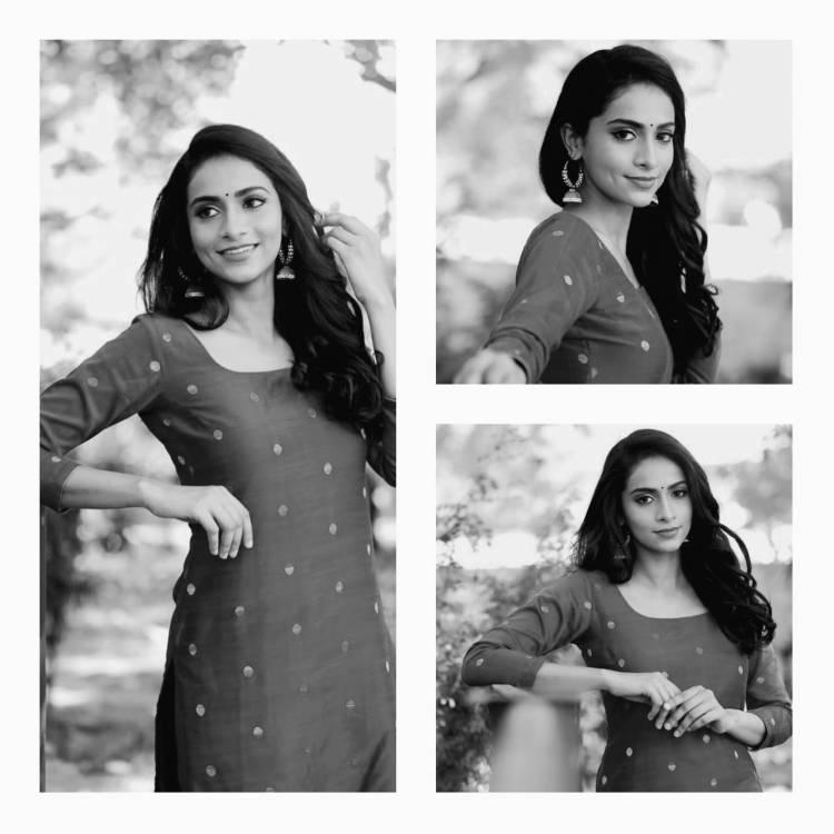 Actress Abitha Venkat
