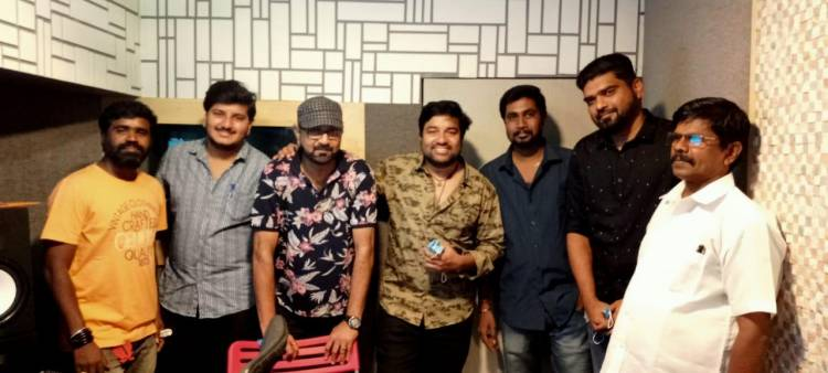 Dubbing begins for #idiot , More updates soon.