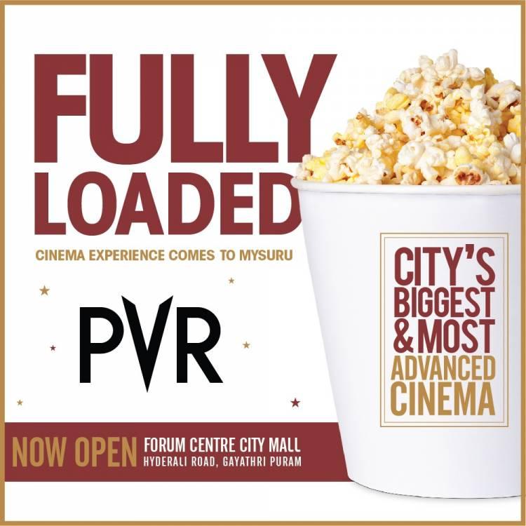 Mysuru gets PVRised with City's biggest 6 screen cinema.