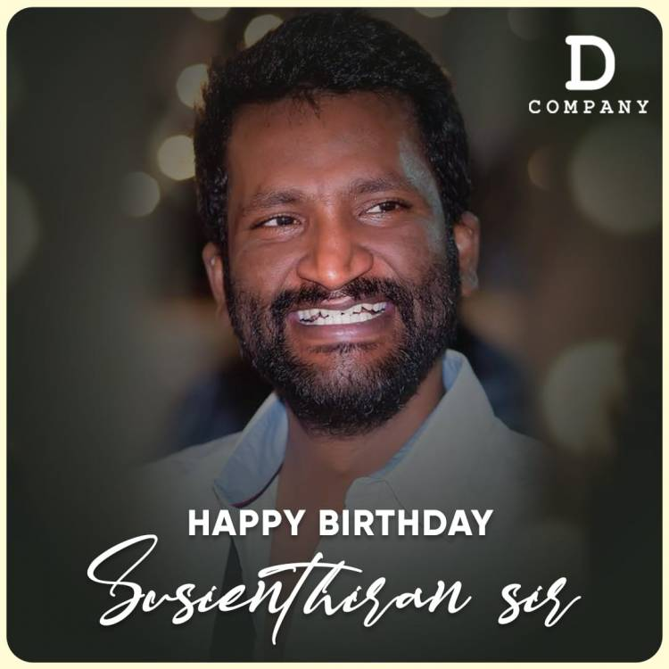 Wishing our very own director #Susienthiran sir a Happy Birthday!