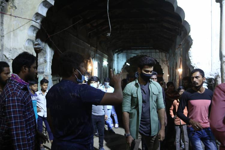 Atharvaa Murali shoots for Single-Shot Action Sequence in Pramod Films' 25th Production directed by Sam Anton